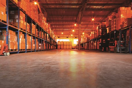 Large distribution warehouse