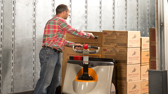 The key benefits of a warehouse management system: the receipt and
